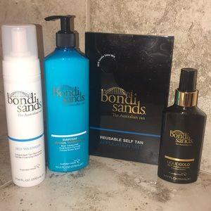 Bondi Sands tanning kit